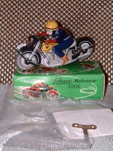 SCHUCO NOS, LTD EDITION, REPLICA MOTORACER 1006 CLOCKWORK LUFTPOST MOTORCYCLE!