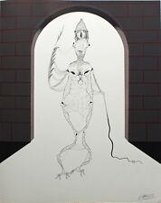 FELIX LABISSE (1905-1982) Lithographie originale L'homlige dim. 56 x 45 cm