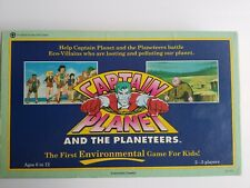 🌍 Captain Planet and the Planeteers ♻️ Original Board Game ✅ COMPLETE 1991