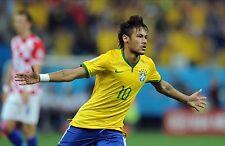 Neymar cartel Art Print A4 260GSM