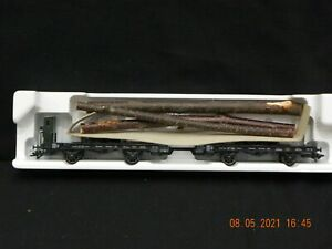 Marklin HO 48841 Towbar Car w/ Actual  Wood