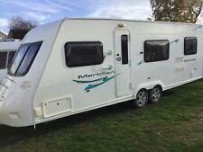 Fleetwood Meriden 640 2009 twin axle 6 berth caravan with end kitchen