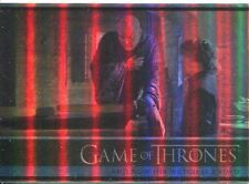 Game Of Thrones Season 3 Foil Parallel Base Card  11 And Now His Watch Is Ended