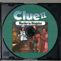 Clue II - Murder in Disguise VCR Mystery Game DVD Clue 2