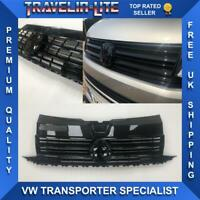 VW T6 Transporter Front Grille Gloss Black Edition ABS Plastic Great Quality
