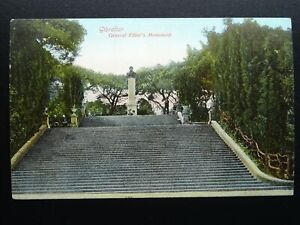 Gibraltar GENERAL ELLIOT'S MONUMENT - Old RP Postcard by A. Benzaquen