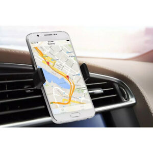 Mobile Phone Holder 360 Rotation In Car Air Vent Mount Cradle Bracket Stand