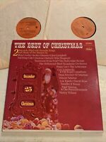 The Best Of Christmas V/A Bing Crosby 2 X LP Capitol Stereo Dean Martin VG-