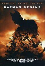Batman Begins -2 Disc Deluxe Ws- Dvd