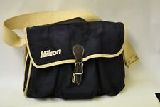 Nikon blue canvas gadget bag
