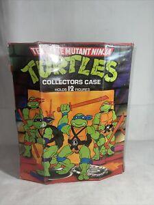 1988 TMNT Collectors Case Teenage Mutant Ninja Turtles Vintage