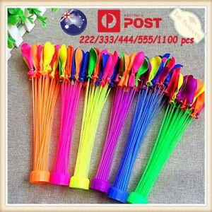 AU 222/333/444/555 Water Balloons Self Bunches Tying Magic Beach Party Bomb Game