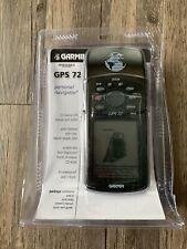 Garmin Gps 72 Handheld Electronic Hiking Biking Fishing Personal Navigation