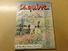 MAGAZINE / ESQUIRE: APRIL 1948