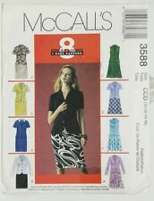 Lined Jacket Skirt Sewing Pattern Office Church 3588 Size 10 12 14 16 by McCalls