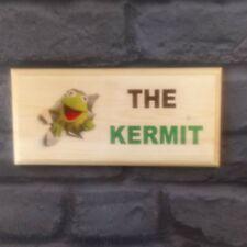 The Kermit Plaque / Sign / Gift - Toilet Muppets Cartoon Frog Loo Bathroom 49
