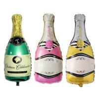 Foil Balloons Champagne Bottle Wedding Birthday Christmas Party Decor Gift U1I4