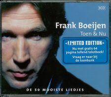 Frank Boeijen: Toen & Nu: De 50 Mooiste Liedjes MUSIC AUDIO CDs Limited w/ Art!