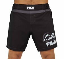 Fuji MMA BJJ No Gi Everyday Grappling Competition Fight Board Shorts - Black