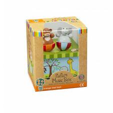 Safari Wooden Toy Music Box from Orange Tree Toys