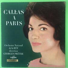 CALLAS A PARIS-Columbia STEREO SAXF 219