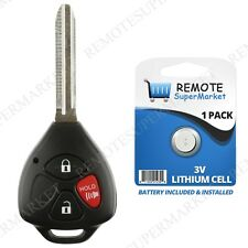 Replacement for Scion 2005-2010 tC Toyota 2007-2013 Yaris Remote Car Key Fob
