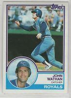 1983 Topps Baseball Kansas City Royals Team Set