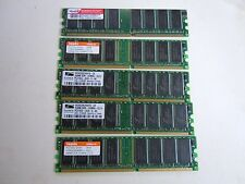DDR 333mhz 2.5V  4 of 256MB  & 1 of 512MB x 1