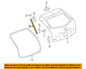 Cadillac GM OEM SRX Liftgate Tail Tailgate Trunk-Release Latch Actuator 23429744