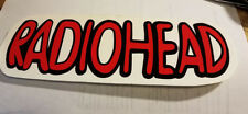 RADIOHEAD BUMPER STICKER COLLECTIBLE RARE VINTAGE 1990'S METAL WINDOW DECAL