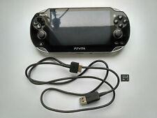 Sony PlayStation Vita PS Vita PCH-1008 Crystal Black Handheld System