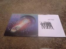 Journey Escape embossed cover (columbia records)with Captured Live and sol