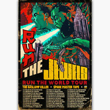 20A637 New Run The Jewels Run 2017 Tour Music Art Poster Silk Deco 12x18 24x36