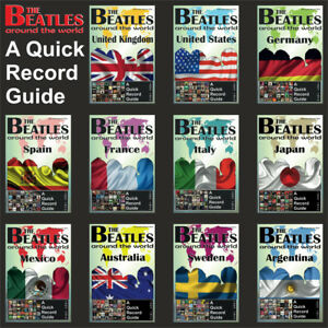Lot - 11 x Beatles A Quick Record Guide: UK US Germany Japan Spain France Sweden
