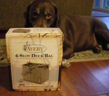 Avery Greenhead Gear GHG 6-Slot Decoy Bag Floating & Full Body Duck Blades Camo