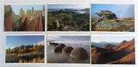 6 x Neuseeland Lot New Zealand Postkarten Post Cards Landscapes Halbinsel OTAGO