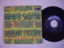 "HARRY J. ALLSTARS - Liquidator GLEN AND DAVE - La La always stay 7"" Fontana Mono"