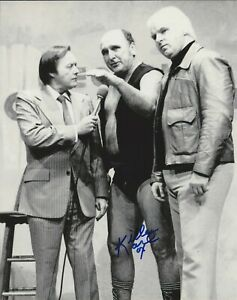 Killer Karl Kox autographed 8x10 #2 Deceased AWA NWA Free Shipping