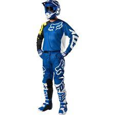 Taglia M-30 Completo Maglia Pantalone Fox 180 Mx Blue Blu 2018 Cross Enduro