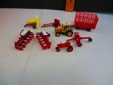Vintage Ertl 1/64 International farm implements