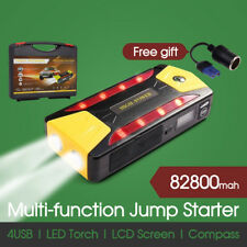82800mAh Car Vehicle Jump Starter Battery Booster Emergency Charger Power Bank