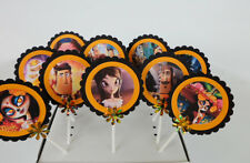 The Book Of Life Cupcake toppers/ cake decor/ cake pops SET OF 10