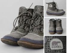 Women's Sorel Boots Size 9.5 NL 1946-060 Gray Blue Periwinkle Purple