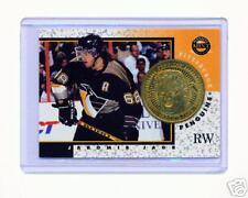 1997-98 PINNACLE MINT JAROMIR JAGR BRASS COIN & CARD