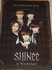 SHINee In Wonderland Star Collection Card BOX TAEMIN KEY MINHO JONGHYUN ONEW