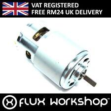24V 12000RPM DC Motor CNC Spindle Collet Arduino Pi Driver Flux Workshop