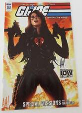 SDCC 2018 EXCLUSIVE G.I. Joe #252 American Hero SIGNED by ADAM HUGHES Only 500!