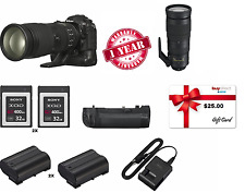 Nikon D500 DSLR Camera Sports and Wildlife Kit W/ $25 GIFT CARD + EXTRA BATTERY