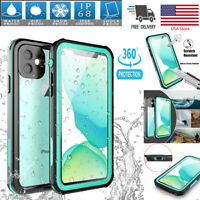 For Apple iPhone 11 Pro Max Waterproof Shockproof Snow DirtProof Thin Case Cover