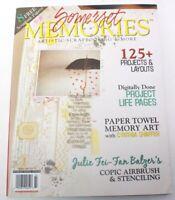 Somerset Memories Scrapbooking Heritage Art Magazine Fall 2012 Back Issue